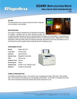 XRF application note 1480