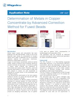 XRF application note XRF1027