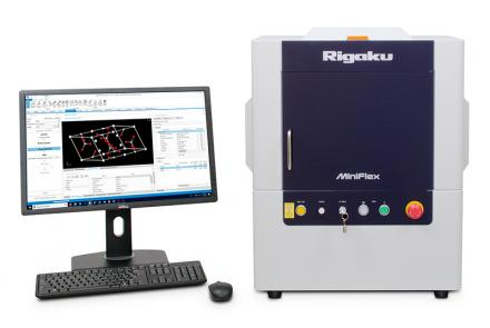 MiniFlex benchtop powder X-ray diffraction (XRD) instrument